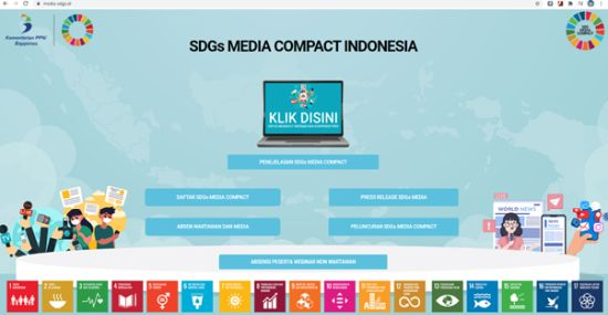 SDGs Media Compact Indonesia: an initiative inviting Indonesian Media to step up public awareness.. and participation.