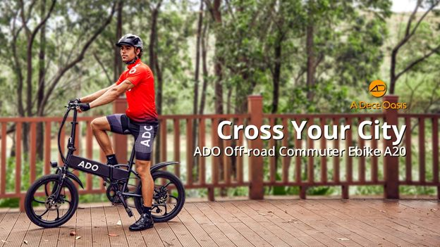 ADO Debuts A20 Urban Off-Road Commuter Ebike across EU on May 6