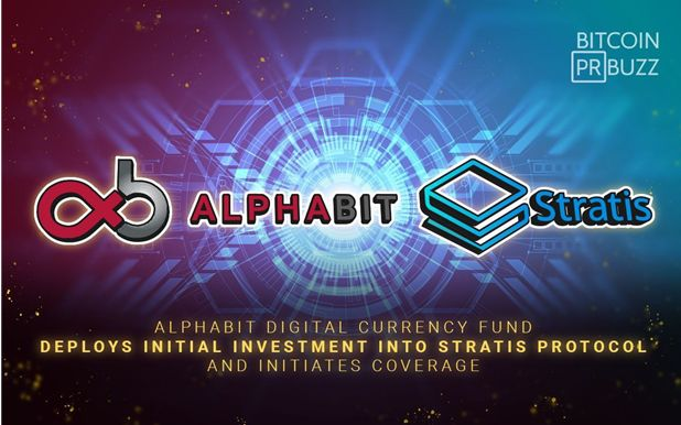 Alphabit deploys Stratis Investment and coverage