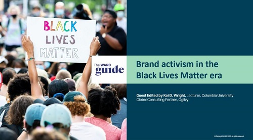 WARC releases Guide to Brand activism in the Black Lives Matter era