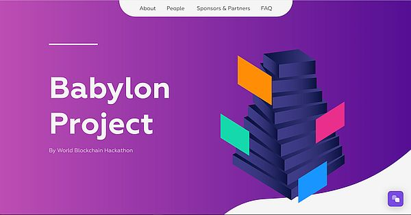 Babylon Project issues immutable Certificate of Participation to all 2020 Hackathon participants