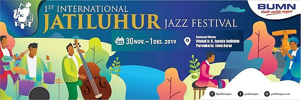 1st International Jatiluhur Jazz Festival brings World Jazz to Jatiluhur Dam