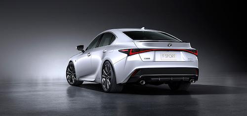 Lexus Premieres New IS