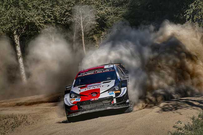 Toyota Yaris WRC Returns to Home Roads for an Autumn Rally Finland