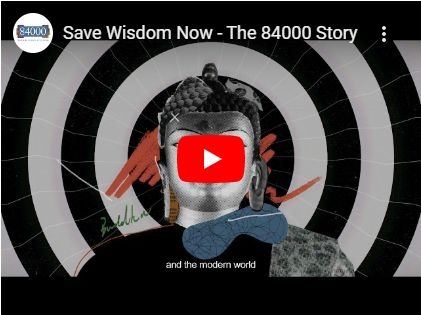 84000 Launches an Animation Video to Preserve Buddhist Texts