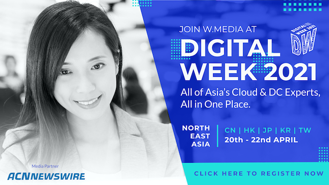 Launch of Digital Week 2021: Northeast Asia April Virtual Conference