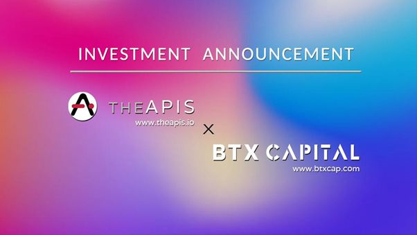 BTX Capital Announces $3M Investment in Partnership with TheAPIS, an Open Source API Platform