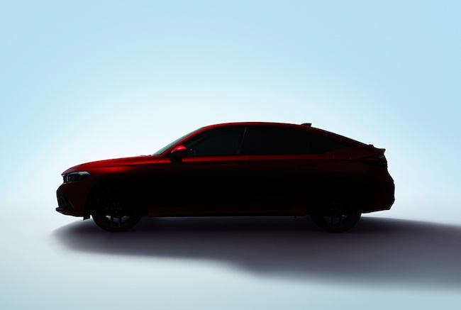 Honda Launches All-New Civic Hatchback Teaser Page on its Company Website