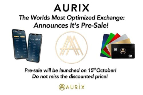 Aurix, the World's Most Optimized Exchange, Announces Its Pre-Sale