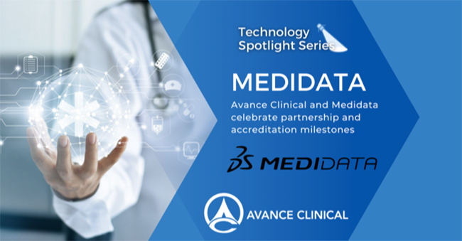 Avance Clinical and Medidata Celebrate Strategic Partnership and Inhouse Expert Accreditation Milestones