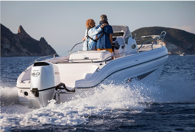 Honda Exhibits the World Premiere of All-new BF150, BF135 and BF115 Large-size Marine Outboard Engines at the Genoa International Boat Show 2021