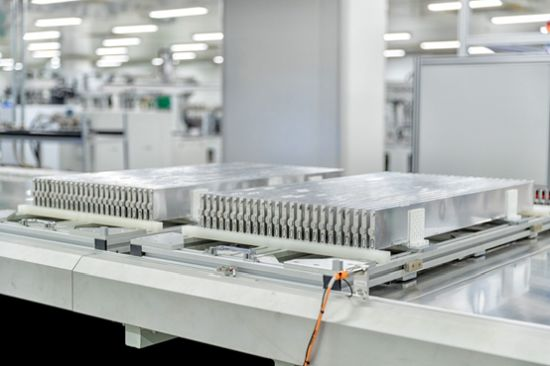 A Glimpse into BYD's Blade Battery Factory in Chongqing