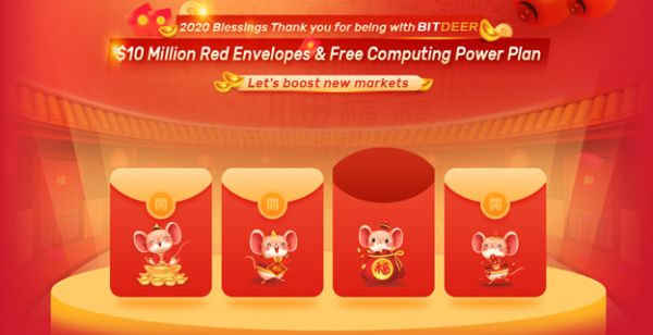 BitDeer.com Announces 2020 Lunar New Year Event with New Mining Plans and Rebates