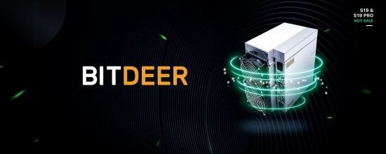 "BitDeer.com Pioneers New ""Extreme Efficient"" S19 Mining Plans"