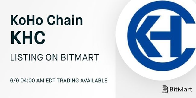 KoHo Chain to List on BitMart Exchange