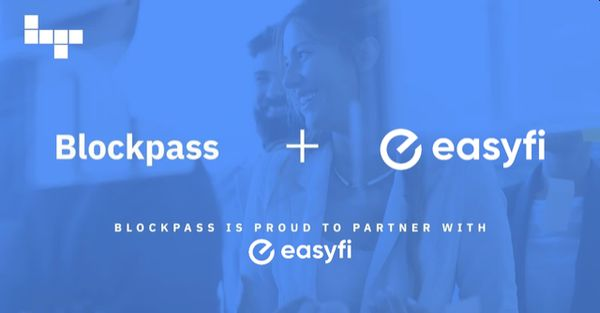 Blockpass Provides Powerful On-chain KYC(TM) Utility for EasyFi DeFi Lending Platform