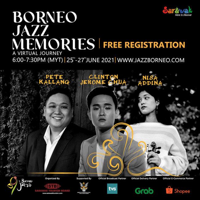 Watch Borneo Jazz Festival Free This 25-27 June
