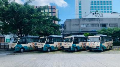 中国动力于菲律宾达沃市举办电动巴士车队启动礼
