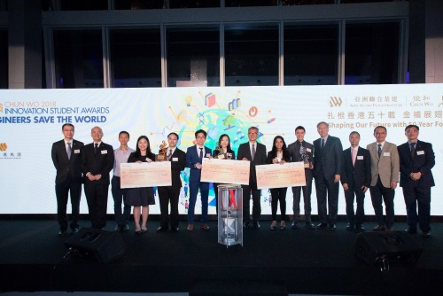 "Chun Wo's Second ""Innovation Student Awards"" Open For Application"