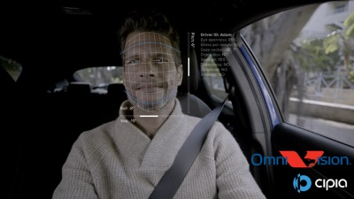 Cipia攜手豪威科技,開發首個量產駕駛員監控解決方案