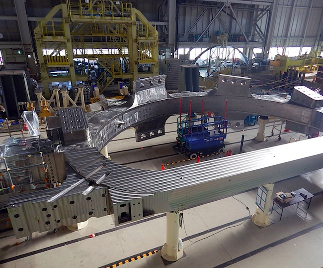 MHI Completes Four TF Coils for ITER