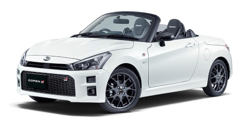 Toyota Rolls Out New Compact Convertible Sports Car Copen GR SPORT in Japan