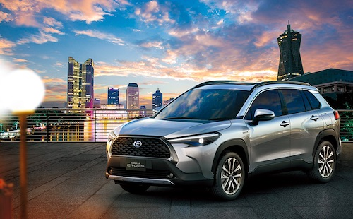 """Corolla Meets SUV""--Toyota Unveils Corolla Cross in Thailand, The New Compact SUV with Strength and Functionality to the Corolla Series"