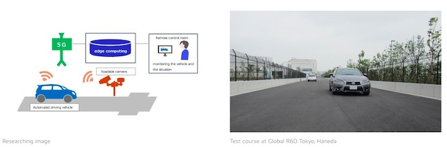 DENSO, KDDI Research 5G's use in Automated Driving to Achieve Safe and Secure Mobility