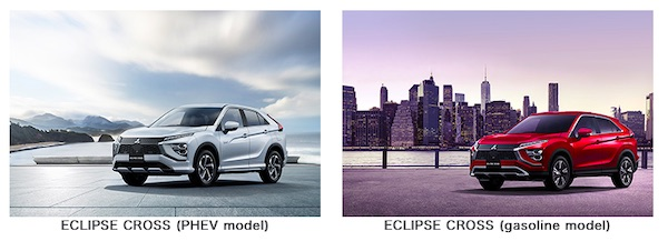 ECLIPSE CROSS PHEV and Gasoline Options Now Available In Japan