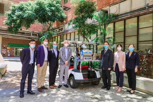 科轩动力赞助香港理工大学氨动力汽车研究项目