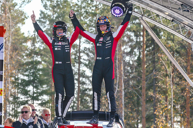 Flying Evans delivers another home win for the Toyota Yaris WRC
