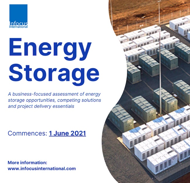Registration Open for Energy Storage Live Online Masterclass