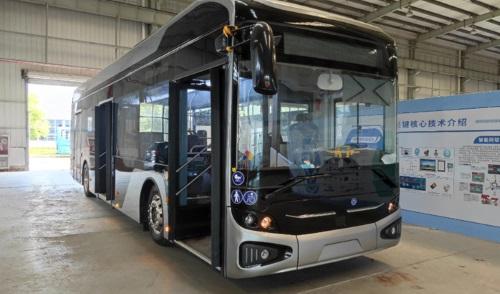 科軒動力12米電動巴士通過歐洲認證