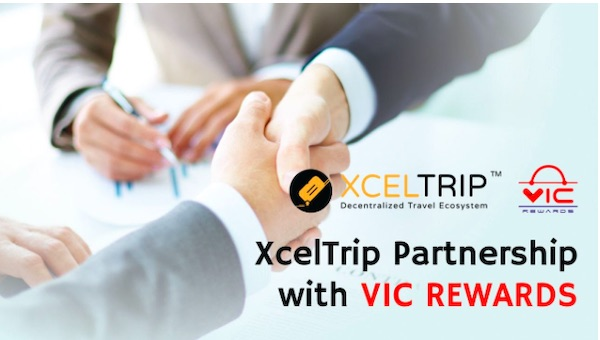 VIC Rewards and XcelTrip Bring Blockchain-enabled Vitality Packages to Consumers