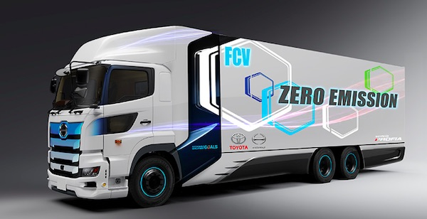 Toyota: Heavy-Duty Fuel Cell Electric Truck Verification Tests to Start in Spring 2022