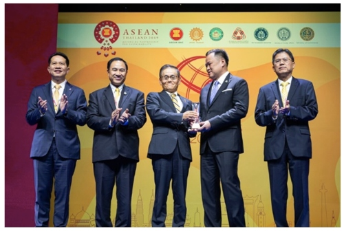 "DENSO Recognized with ""Friend of ASEAN Award"" at the ASEAN Business Awards (ABA) 2019"
