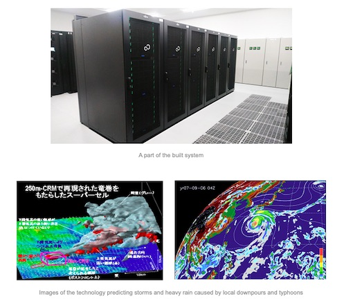 Fujitsu's New Supercomputer System for Japan's Meteorological Research Institute Commences Operations