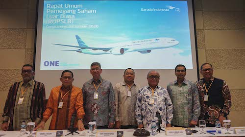 Garuda Indonesia Appoints Irfan Setiaputra as CEO