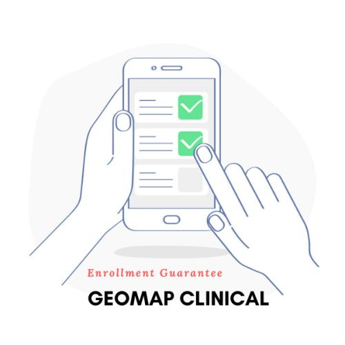 GeoMap Clinical Patient Recruitment Platform Now Guarantees Enrollment Numbers