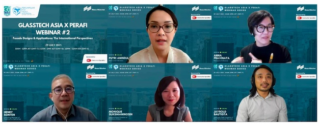 Glasstech Asia x PERAFI Webinar Attracted Global Audience from 12 Countries