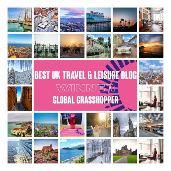 Global Grasshopper VUELIO's Best UK Travel and Leisure Blog 2019