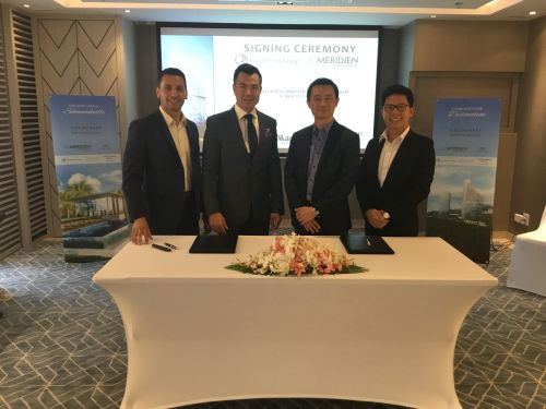 The Grand Lion Group Inks Second Contract with Marriott International in Sihanoukville, Cambodia