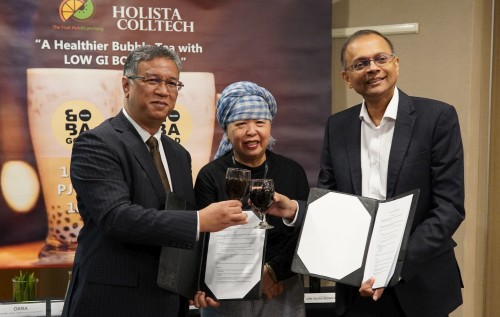 Holista Collaborates to Develop World's First Combined Suite of Healthybubble Tea Ingredients amidst Concerns of Diabetes and Obesity