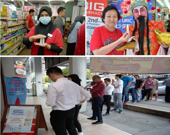 Malaysians Rush for Anti-Virus Sanitiser, Natshield(TM), after Pharmacies Restock on Concerns of Spread of Deadly Disease