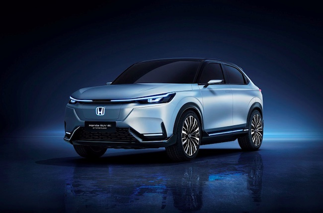 "Honda Exhibits the World Premiere of the ""Honda SUV e:prototype"" at Auto Shanghai 2021"