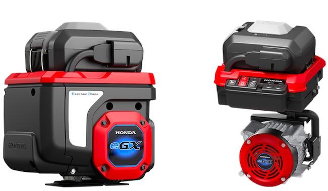 Honda to Begin Supplying Electrified Power Unit, eGX, for Commercial-Grade Work Equipment