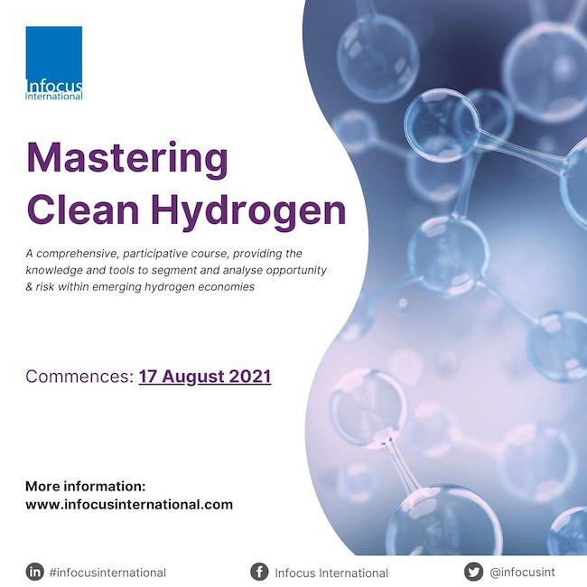 Registration Open for Mastering Clean Hydrogen Live Online Masterclass