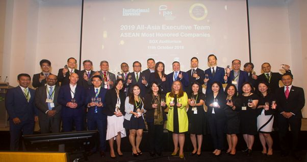 Inaugural 2019 All-Asia Most Honored Companies Awards - ASEAN Names 24 Regional Companies For Investor Relations Excellence
