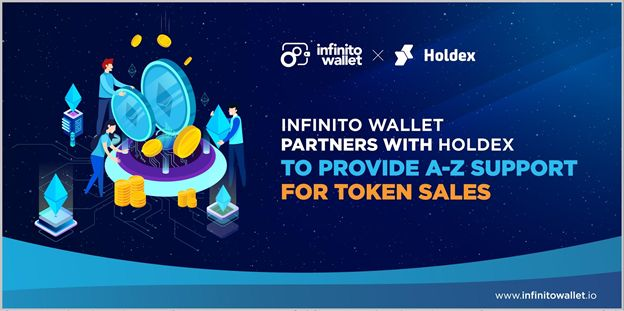 Infinito Wallet and Holdex partner to enable full support for crypto