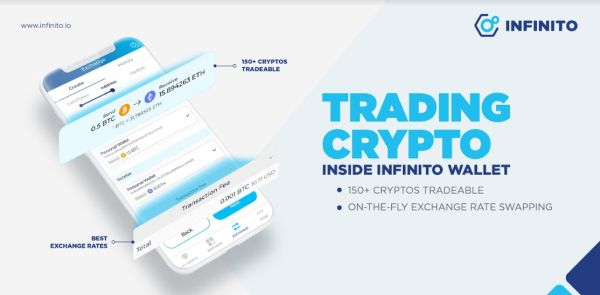 Infinito Unveils Native Exchange Feature for Over 150 Cryptocurrencies on Infinito Wallet